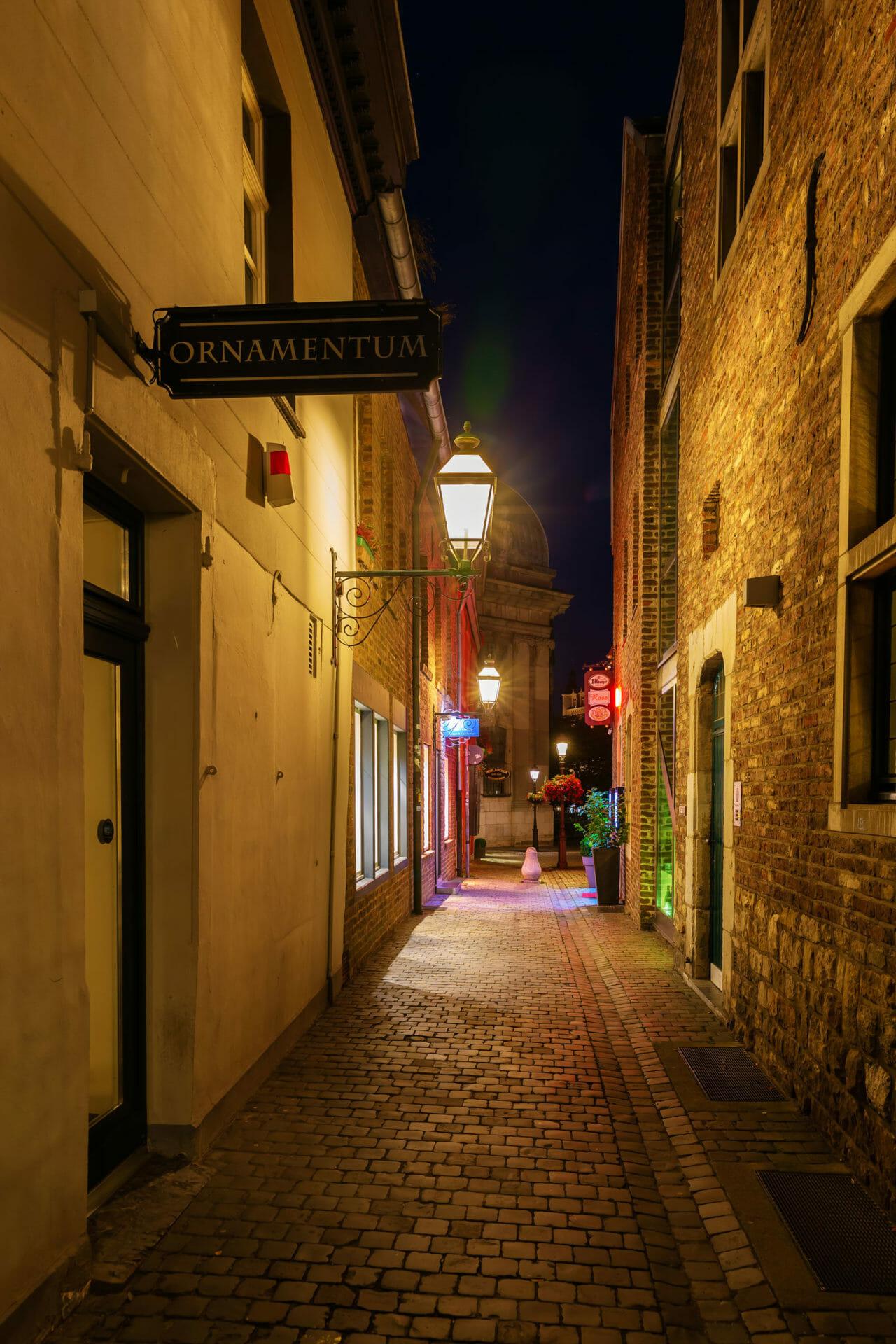 Berufsberatung in Aachen - Aachen Nachtbild